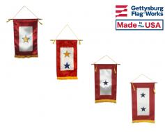 "Indoor Service Star Banner 8x14"" - Choose Options"