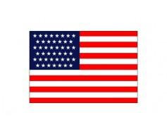 American, 45 Star Flag