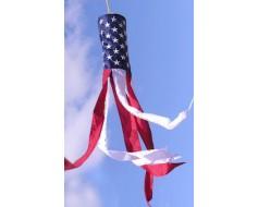 American Flag Windsock