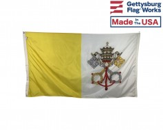 Vatican City Flag – Outdoor - Choose Options