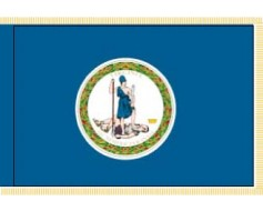 Virginia Flag - Indoor