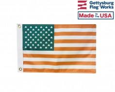 Irish Shamrock U.S. Boat Flag