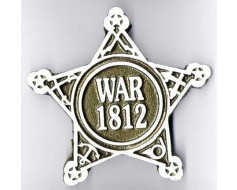 War of 1812 Aluminum Grave Marker