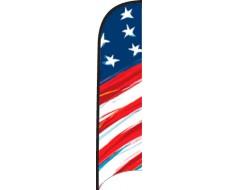 Wave Flag - Stars & Stripes Sketch