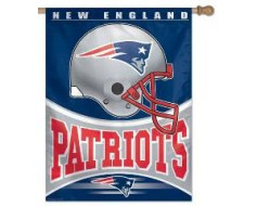 New England Patriots Banner (Blue Background)