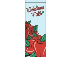 Welcome Apple Avenue Banner