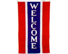 Vertical Welcome Banner