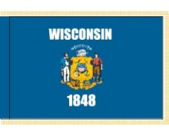 Wisconsin Flag - Indoor