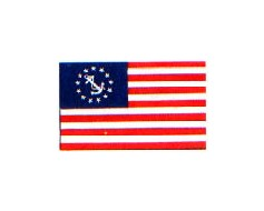 US Yacht Ensign Flag - 16x24""