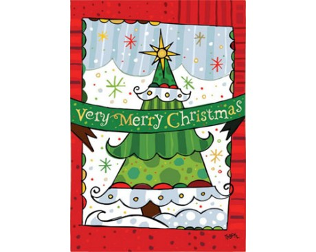 Very Merry Christmas House Banner