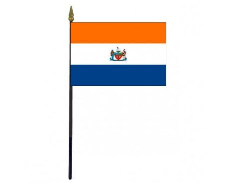 City Of Albany Stick Flag