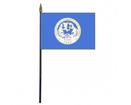 County of Albany Stick Flag