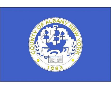 County Of Albany Flag