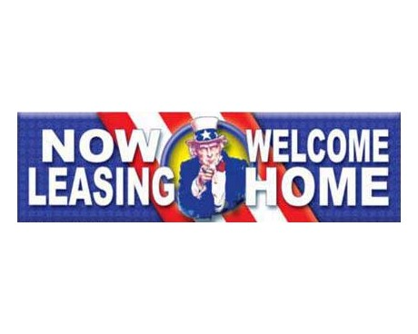 Leasing Flag Now Leasing Banners Business