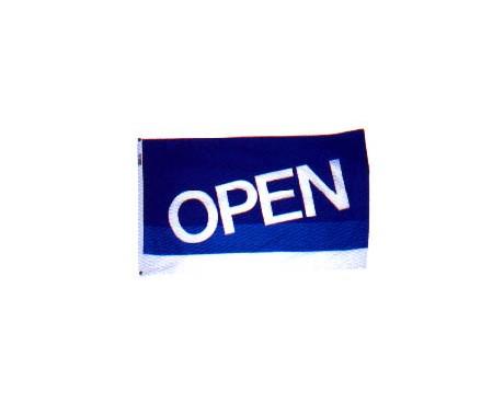 Hopen For Business Flag Vertical 2x3 Open Flags