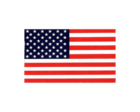 American Flag Sticker (Correct)