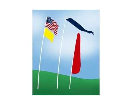 Superflex Telescoping Flag Pole