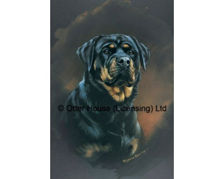 Rottweiler Flag (Painting)