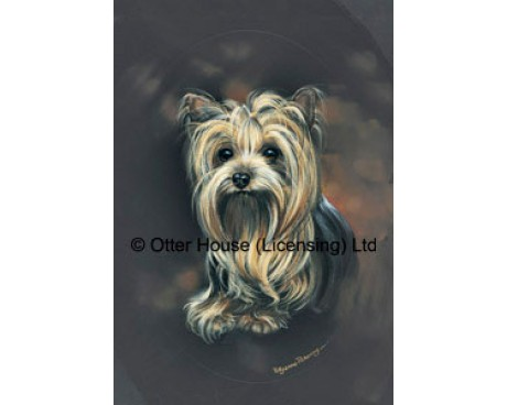Yorkie Flag (Painting)