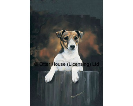 Jack Russell Flag (Painting)