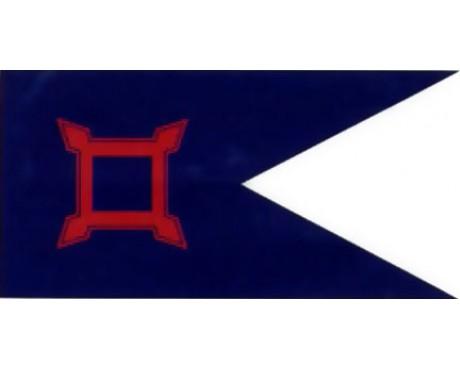 10TH CORP HQ 1864 Flag - 2.5x5'