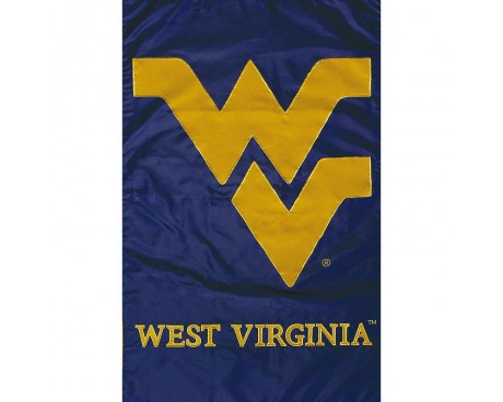 "West Virginia Mountaineers Garden Flag - 12X18"" -CHOOSE OPTIONS"