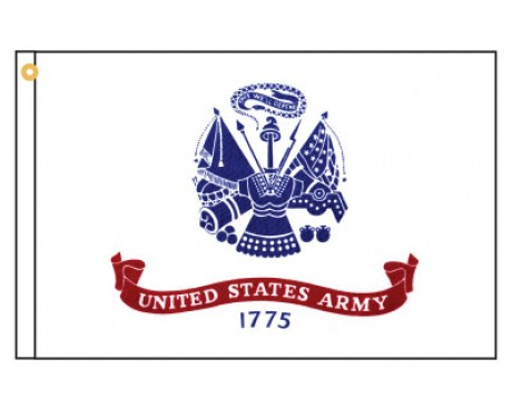 Army Motorcycle Flag