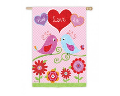 Love Birds House Banner
