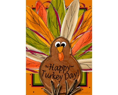 Happy Turkey Day House Banner