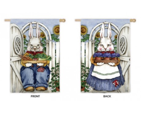 Wise Rabbits Flag