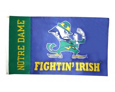 Notre Dame Fightin' Irish Flag