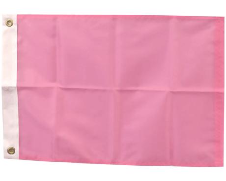 BLANK NYLON GOLF FLAG, Crocus