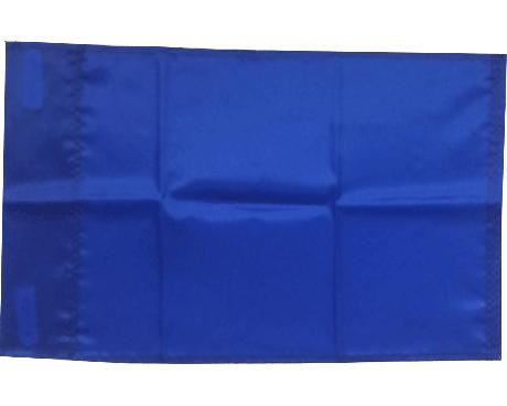 BLANK NYLON GOLF FLAG, Royal Blue