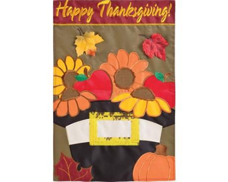 A Pilgrim's Harvest House Banner