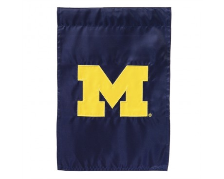 "Michigan Wolverines Garden Flag - 12X18"" -CHOOSE OPTIONS"