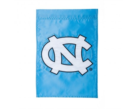"North Carolina Tarheels Garden Flag - 12X18"" -CHOOSE OPTIONS"