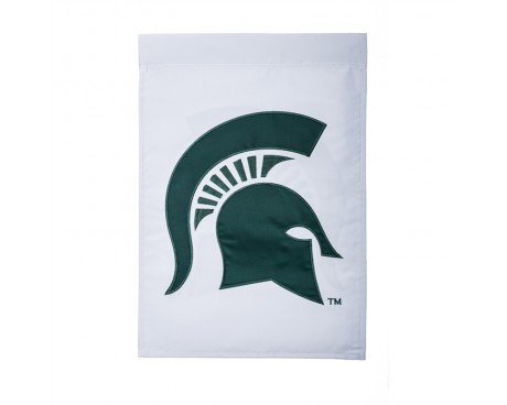 "MSU Spartans Garden Flag - 12X18"" -CHOOSE OPTIONS"