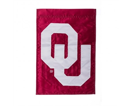 "Oklahoma Sooners Garden Flag - 12X18"" -CHOOSE OPTIONS"