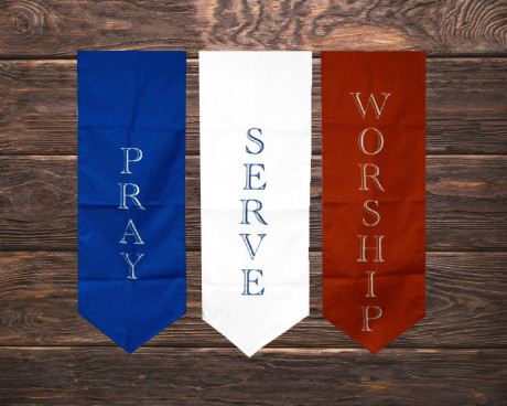 Custom Church Flag & Banner Portfolio