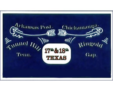 17th & 18th TX Flag - 3x5'