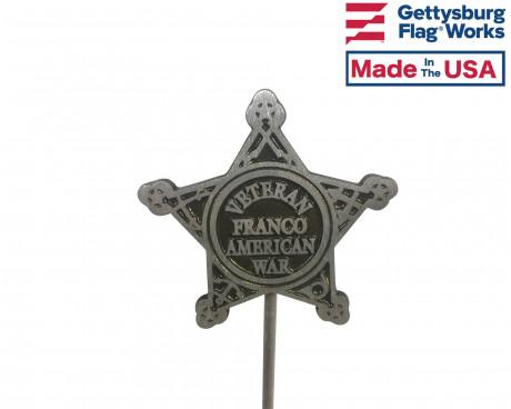 Franco American War Grave Marker-Aluminum