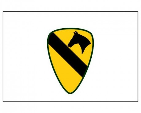 1st Cavalry Division Flag