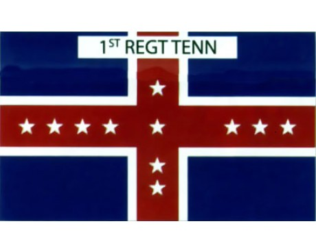1st Tennessee Infantry Regiment Flag - 3x5'