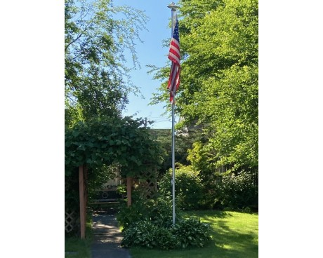 20' Economy Sectional Flagpole