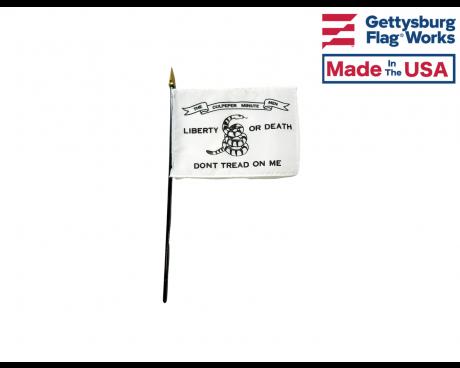 "Culpeper Minutemen Stick Flag - 4x6"""