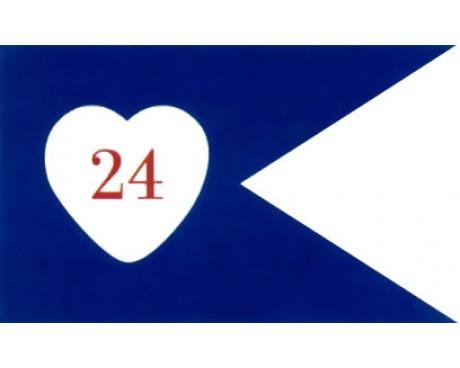 24th Corp HQ Guidon (1864) Flag - 3x5'