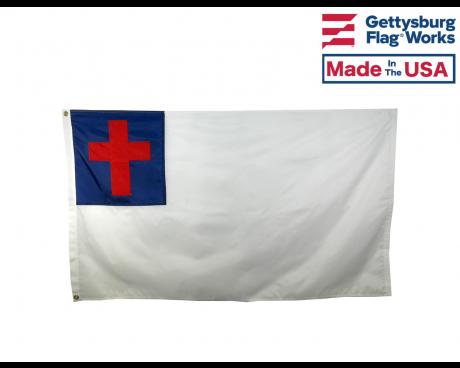 CHRISTIAN OUTDOOR FLAG