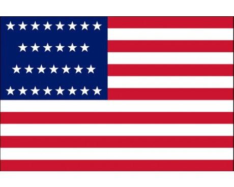 American, 29 Star Flag