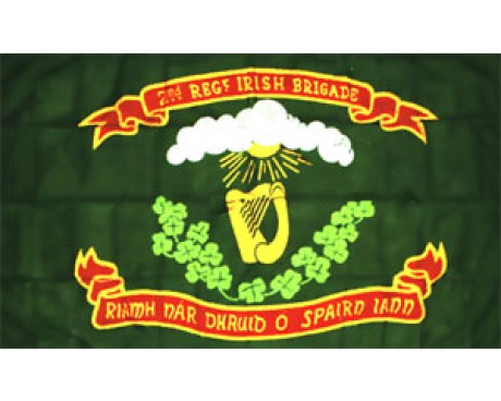 2nd N.Y. Irish Brigade Regiment Flag - 3x5'
