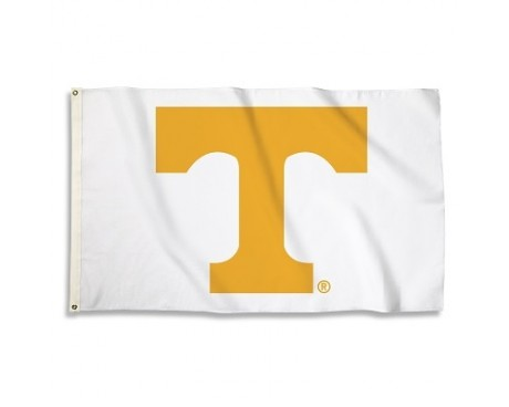 Tennessee Volunteers Outdoor Flag - WHITE
